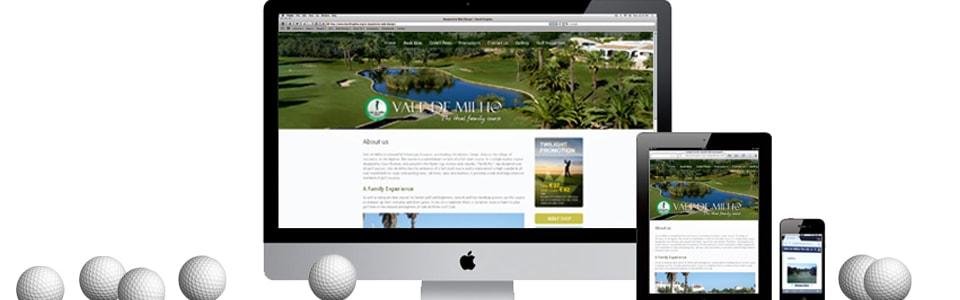 Vale de Milho Website - Full Responsive Design