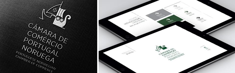 New Portuguese Norwegian Chamber of Commerce Logo and website