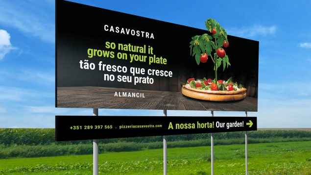 Billboard outdoor Casavostra