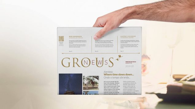 Graphic design herdade dos grous-newspaper