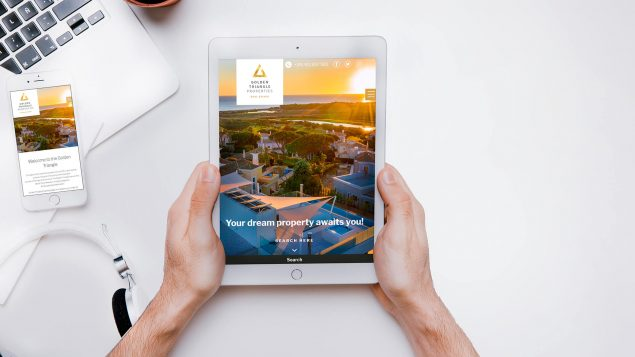 webdesign - Golden Triangle Properties
