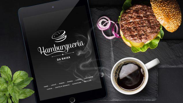 webdesign - Hamburgueria da Baixa
