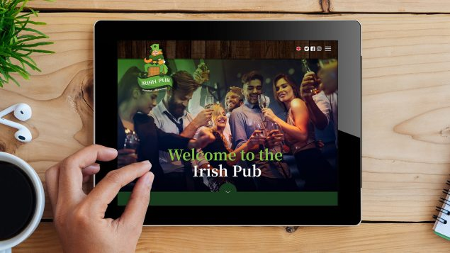 webdesign - Irish Pub
