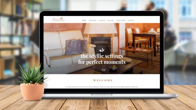 Webdesign-Quinta Amendoeiras