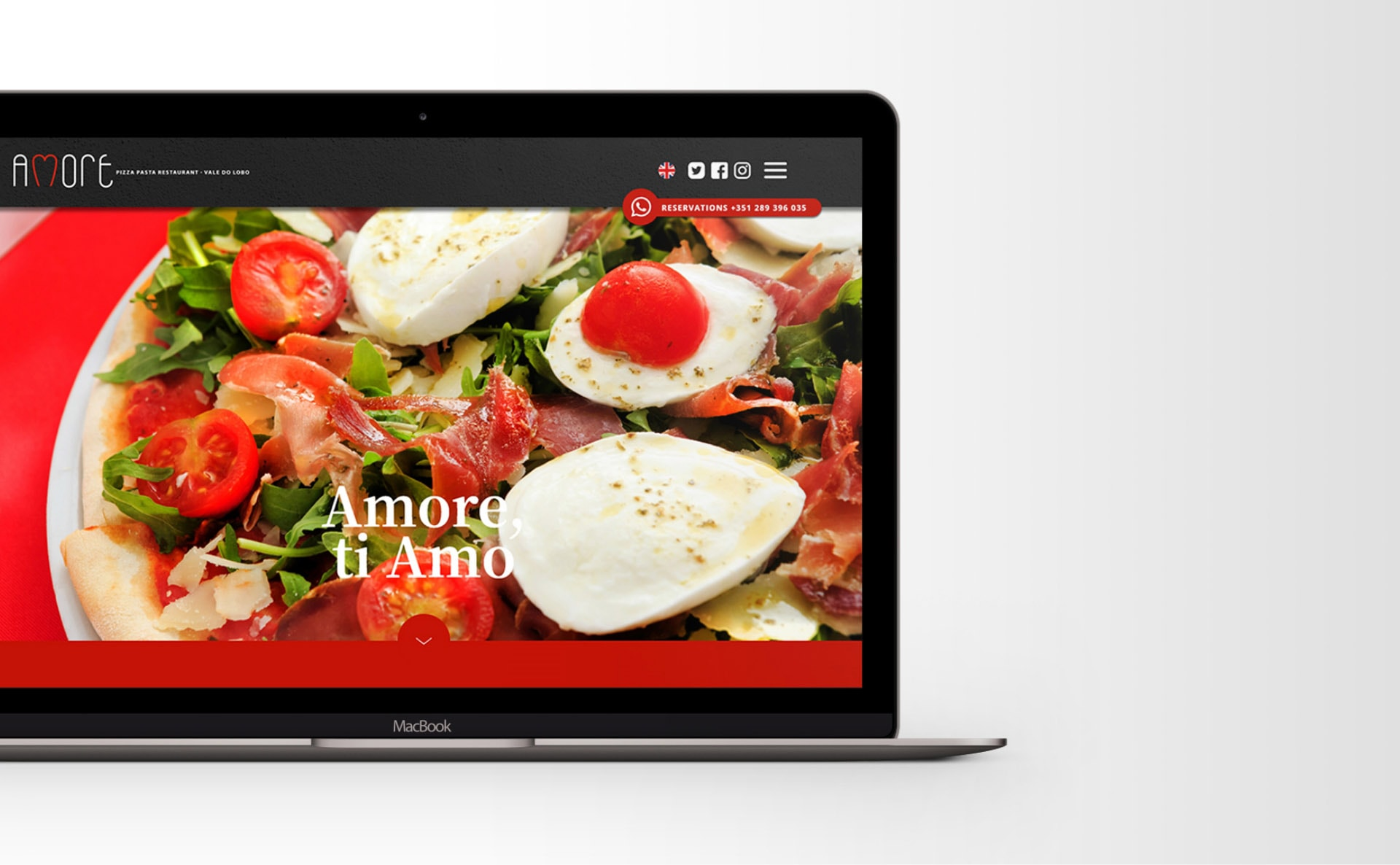 webdesign Amore Shelsian