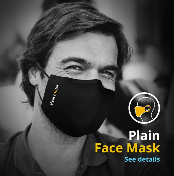 plain face mask covid19 algarve